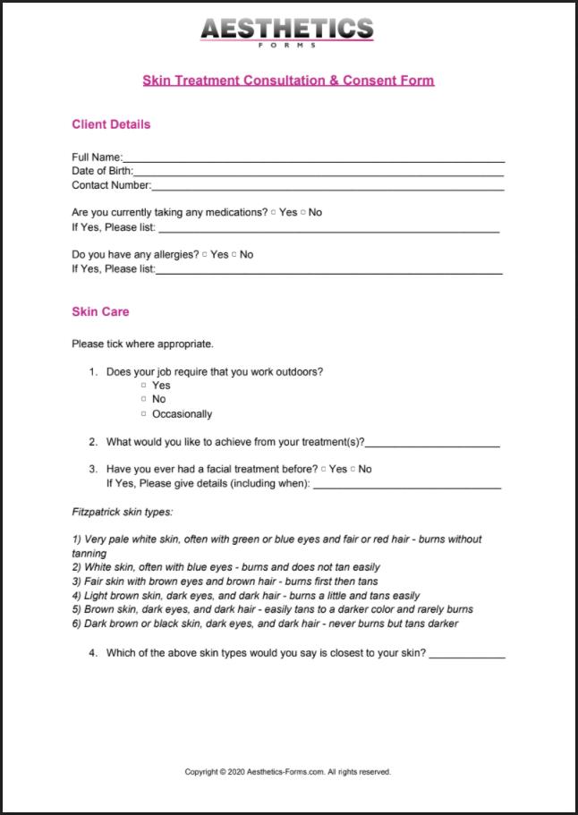 Skin Treatment PDF