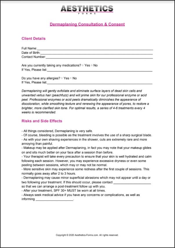 Dermaplaning PDF