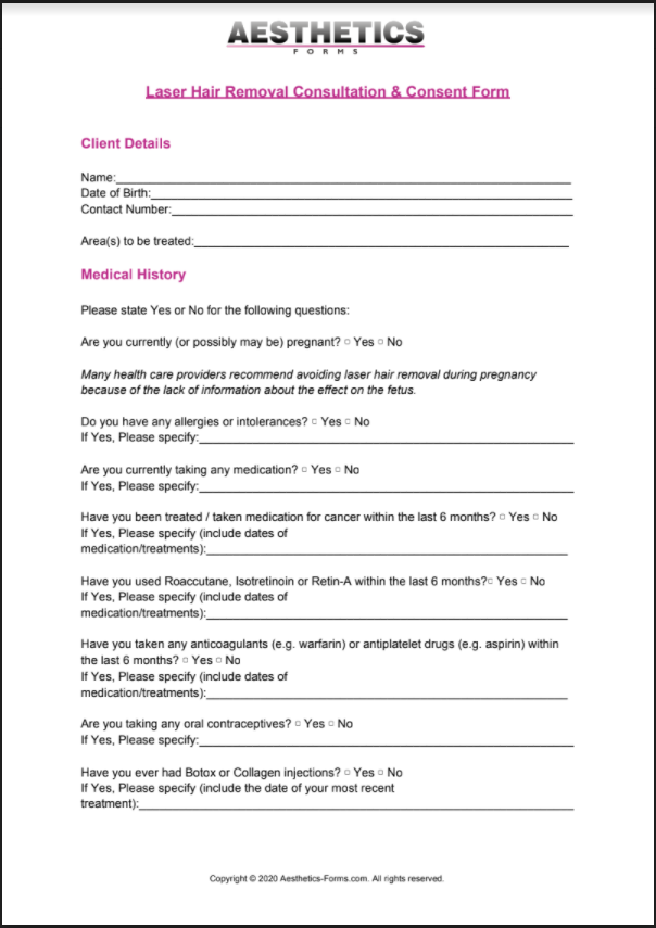 laser hair removal pdf