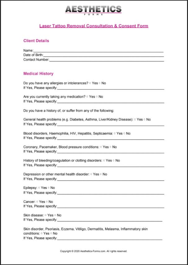 laser tattoo removal pdf
