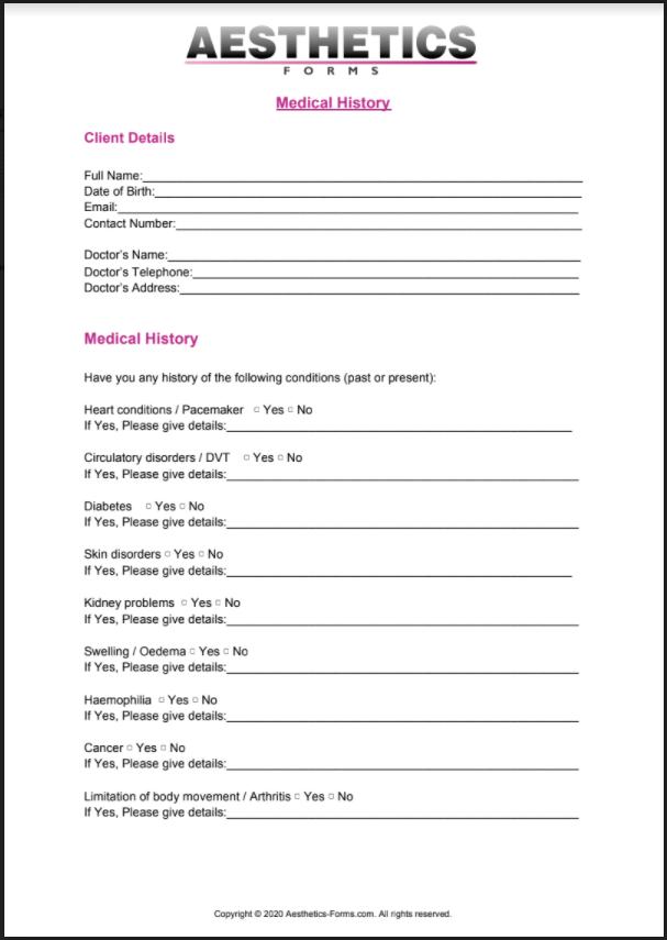 Medical History PDF